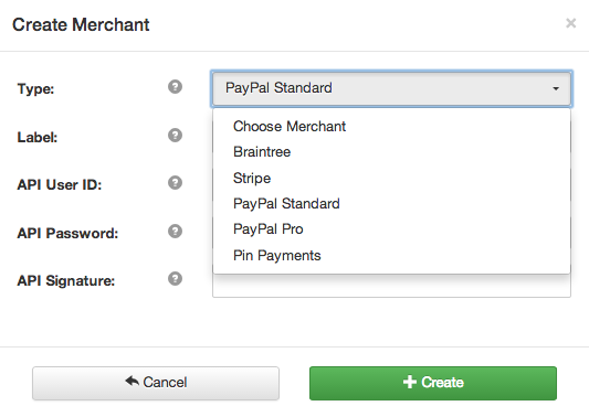 how to cancel merchant account paypal