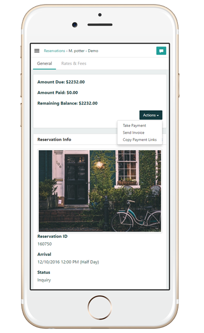 Modern Vacation Rental Booking Engine